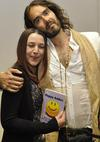 Beth Burgess and Russell Brand: Happy Addicts